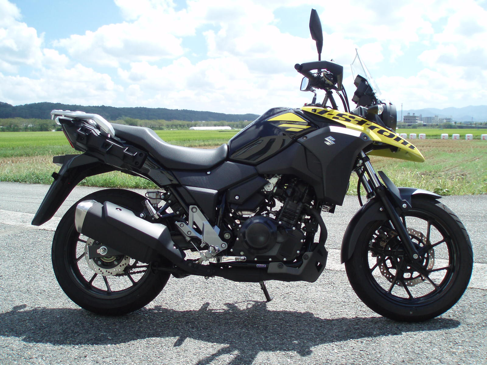 '17Vストローム250FI ETC2.0 SOLD OUT